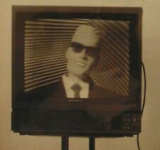 Vintage 80's MAX HEADROOM TV Show Matt Frewer 1986 Print Article Photo Clipping