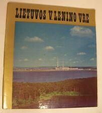 1977 LIETUVOS LENINO VRE Lithuania THERMAL POWER PLANT Energy History SCARCE SB