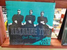 Alkaline Trio Good Mourning Past Live LP NEW Turquoise Colored vinyl Matt Skiba