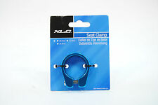 Mountain/Road Bike Seat Post Clamp 31.8mm for 27.2mm Seatpost, Blue