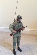 Custom 1/6 Scale WW2 US Airborne Radio Telephone Operator ,1944