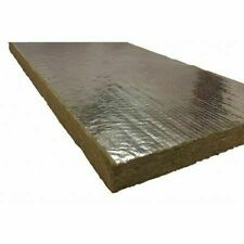 Roxul 40260 1 In X 48 In X 24 In Mineral Wool/Foil Backing 8#, Dark Brown