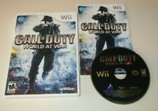 Call of Duty: World at War COMPLETE GAME for your Nintendo Wii system - GC U