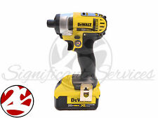 Premium Dewalt Impact Drill Driver DCF885 & Dewalt 20V Battery DCB204 4.0 AH