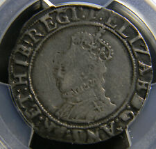 New listing Great Britain 1601-02 shilling Pcgs Vf Details Graffiti