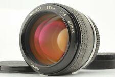 【 NEAR MINT 】Nikon Ai-converted 85mm f/1.8 MF Telephoto Lens from Japan #4681217
