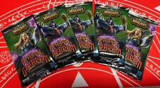 WOW TCG ITALIAN Betrayal of the Guardian LOT OF 5 Sealed Booster Packs