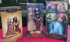 Disney RAPUNZEL & MOTHER GOTHEL Fairytale Designer Doll Tangled Hero Vs Villain