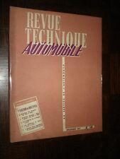 REVUE TECHNIQUE AUTOMOBILE N° 140 - 1957 - FIAT 600 et Multipla - 203 Peugeot...