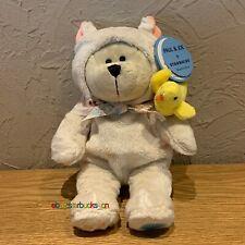 Starbucks Bear 2018 China Bearista Paul & Joe Cat Chick Bear Doll Yellow