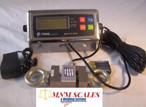 Crane Scale 3000 lb x 0.5 lb,ST-3k S type Load cell,Digital Indicator,NEW