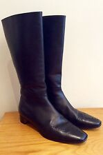 CHURCH'S BLACK LEATHER RIDING BOOT SIZE 36.5 UK 3.5