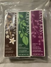 Mary Kay 2014 Christmas Limited Ed. Lip Balm Vanilla Mint ~ Vanilla ~ Berry Set
