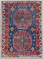 Tapis ancien antique rug Caucasien 1900