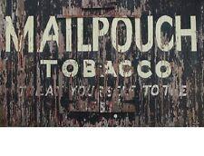 "TIN SIGN"" MailPouch Tobacco"" Nicotine Deco Garage Wall Decor"