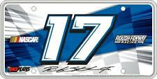 #17 Ricky Stenhouse Jr Signature Series Souvenir License Plate SS1715BK