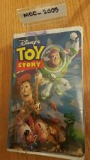 TOY STORY (1995) VHS Tape, Tom Hanks, Tim Allen Clamshell Case - Great condition
