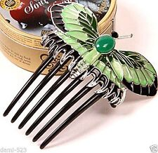New Classic Titanic Heroine Rose Dress Nice Butterfly Comb Replica Hairpin