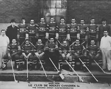 Montreal Canadiens 1933-34 - 8x10 B&W Team Photo