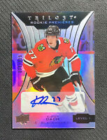 2019-20 UPPER DECK TRILOGY KIRBY DACH LEVEL 1 ROOKIE PREMIERES AUTO #ed 38/399