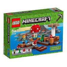 21129 LEGO Minecraft The Mushroom Island 247 Pieces Age 8+ New for 2017!
