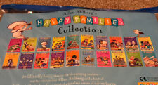 Exc 20x Happy Families Book Set In Plastic Case Janet & Allan Ahlberg