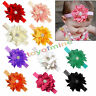 Girl Newborn Baby Toddler Infant Flower Headband Hair Bow Band Accessories