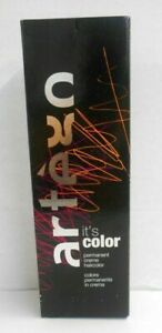 ARTEGO IT'S COLOR Professional Permanent Cream Hair Color ~5.1 fl oz~(Black Box)