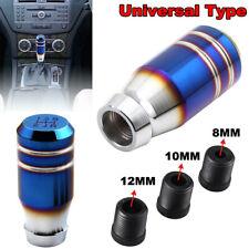 Universal Bride Burnt Blue Car 5 Speed Gear Shift Lever Manual Knob Shifter Head