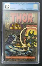 Thor #134 CGC 8.0 1st appearance High Evolutionary Off White / White pages KEY!!