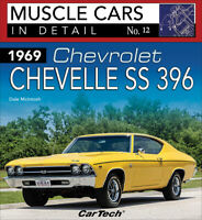 1969 Chevrolet Chevelle SS396 Book ~ Muscle Cars in Detail No. 12 ~ NEW 2021!