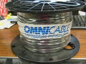 OMNI  COPPER CABLE BLACK 12 AWG 600 VOLT 500 FT (NEW)