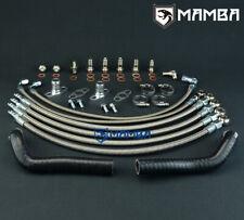 MAMBA Turbo Oil Water Line Kit For NISSAN 300ZX Z32 VG30DETT Garrett GT25R GT28R