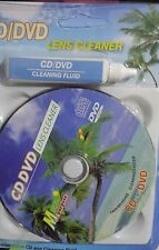 CD/DVD Head Dirt Detergente ripristina KIT DISCO LASER LENTE + LIQUIDO DETERGENTE Set 1