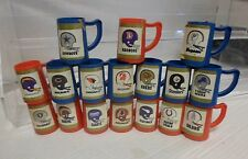 1980's NFL Candy Containers Lot 17 No Lids Cowboys Bears Oilers Colts + More