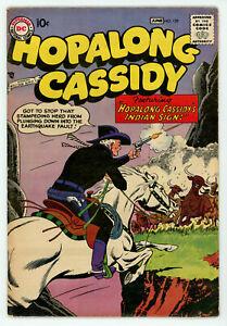 JERRY WEIST ESTATE: HOPALONG CASSIDY #129 (FN-) & WESTERN COMICS #53 DC 1955-58