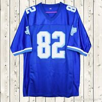 Charlie Tweeder #82 West Canaan Coyotes Stitched Football Jersey Varsity Blues