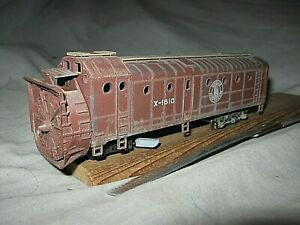 A6405 HO RARE ATHEARN GREAT NORTHERN RR X1610 ROTARY SNOW PLOW