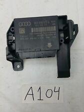 2009 2010 2011 2012 AUDI S4 A4 B8 - PARKING AID / PARK ASSIST CONTROL MODULE OEM