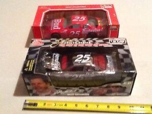 NASCAR Diecast 25 Wally Dallenbach Chrome chase Ken Schrader Bud Budweiser Chevy