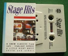 Stage Hits Cats Starlight Express Evita + BP Cassette Tape - TESTED