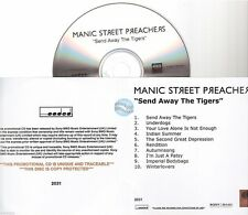 MANIC STREET PREACHERS send away the tigers CD ALBUM PROMO