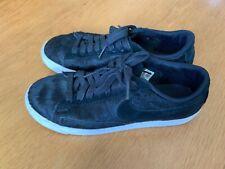 Nike Da Donna Neri Cavallino Capelli Pelle UK 6 EU 40 3646219a35cc