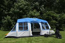 Tahoe Gear Prescott 12-Person 3-Season Tent, Blue/White | TGT-PRESCOTT-12-B