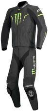 MONSTER ENERGY Moto Racing Vera Pelle Suit
