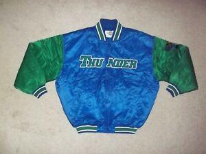 Vintage Rare Starter Trenton Thunder Satin 2XL Full Button Minor Leagues Jacket