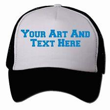 Custom Personalized Printed Trucker Baseball Caps With Mesh Back