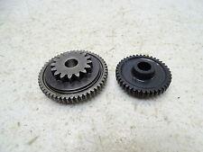 08-15 Can-Am DS450 DS 450 Starter Idler Gears