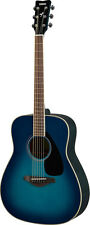 Yamaha FG820-SB Acoustic Folk Guitar (Sunset Blue). New