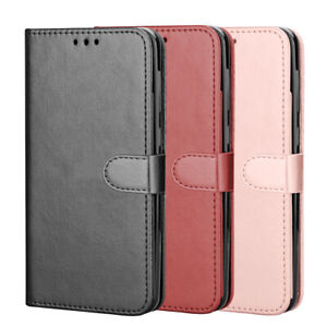 For Samsung Galaxy S20 FE 5G Case, Leather Wallet + Tempered Glass Protector